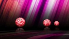 3 discoball discotime Stock Footage