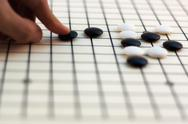Stock Photo of traditional chinese board game - go