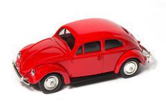 toy volkswagen beetle - stock photo
