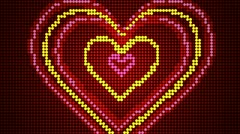 Valentine's day  background Stock Footage