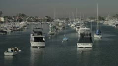 Los Angeles Harbour Stock Footage