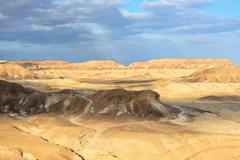 negev desert - stock photo