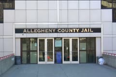 Allegheny County Jail Stock Footage