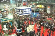Stock Video Footage of New York Comic Con 2011