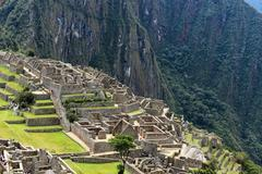 inca city - stock photo