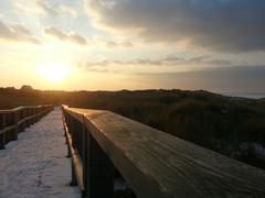 Sunny solitude in the Winter - stock photo