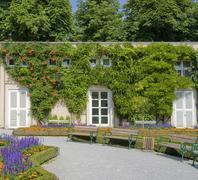mirabell palace - stock photo