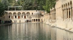 Abraham's pond - stock footage