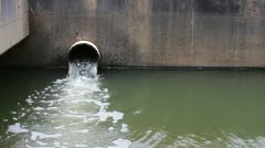 Waste water Stock Footage