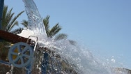 Water attraction Stock Footage