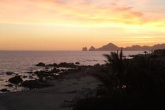 Cabo San Lucas Sunset Stock Photos