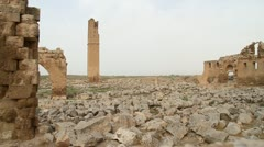 Ruins in Haran - stock footage
