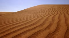 Stock Video Footage of Dubai, Sand Dunes, Desert, Arabian Desert
