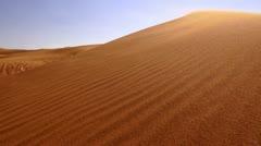 Dubai, Sand Dunes, Desert, Arabian Desert Stock Footage