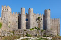 Obidos castle, estremadura, portugal, europe. Stock Photos