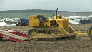Earth moving machine 03 Stock Footage