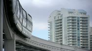 Stock Video Footage of stock video footage monorail