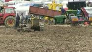 Earth moving machine 05 Stock Footage