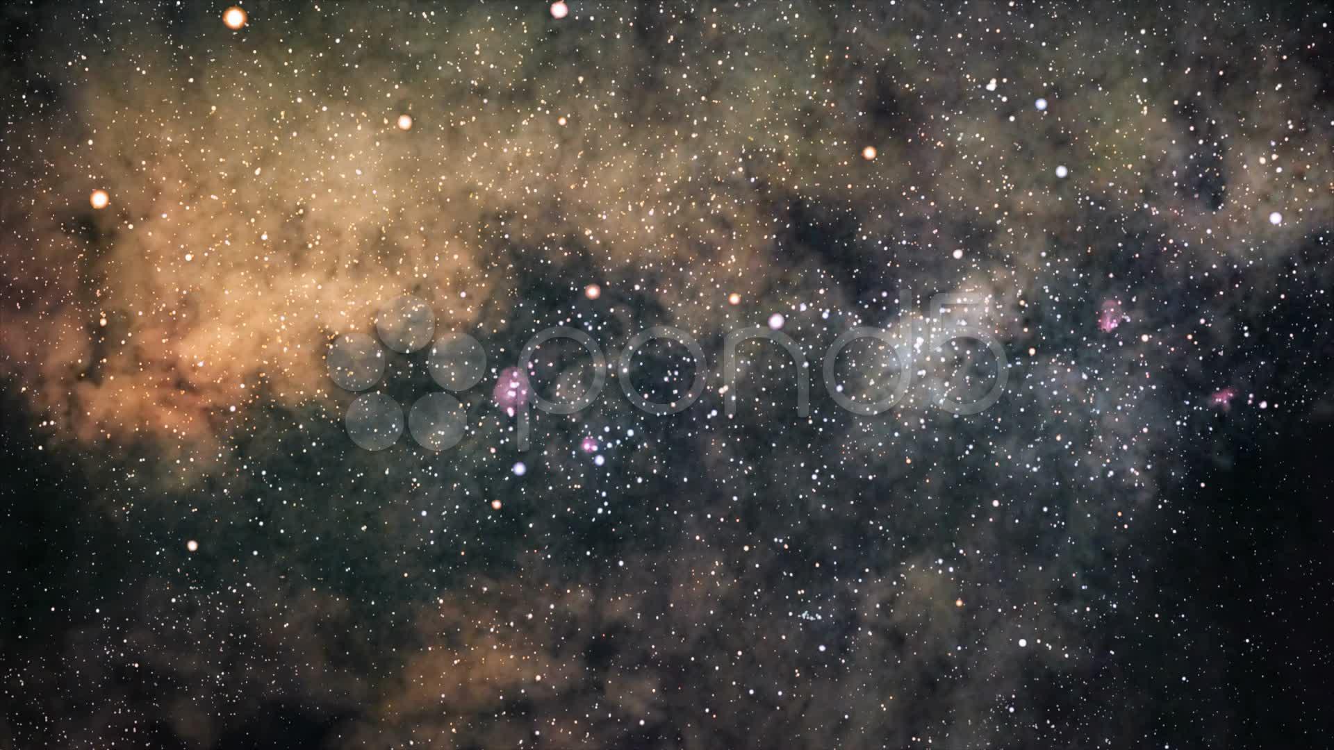Deep Space Flight Stock Video 20460385   HD Stock Footage