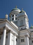 Stock Photo of Helsinki Lutheran Cathedral on Senate Squar