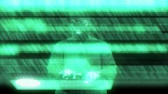 Hacker Breaking System - stock footage