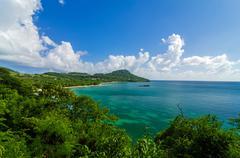 Beautiful Caribbean Bay - stock photo