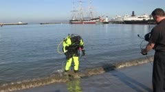 San Francisco, rescue team Stock Footage