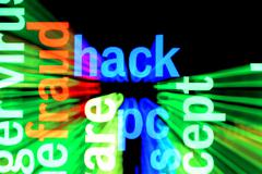 Hack concept Stock Illustration