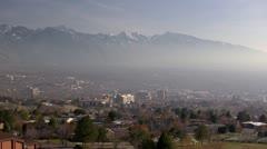 Salt Lake City Skyline - stock footage