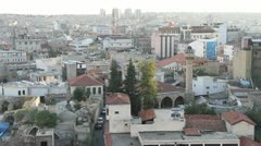 Roofs of houses in Gaziantep - stock footage