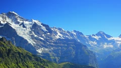 Alps mountains. - stock footage