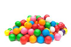 Stock Photo of colorful gumballs