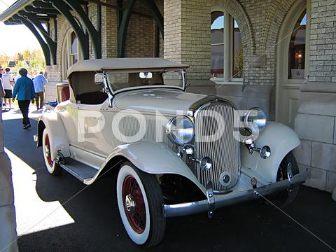 Stock photo of Antique Car