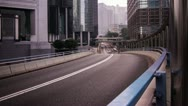 Time Lapse of busy Traffic Stock Footage