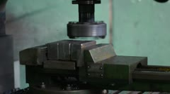 Stock video footage grinding machine Stock Footage