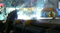 stock video footage welder 2 - stock footage
