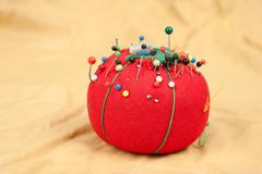 Stock Photo of pin cushion