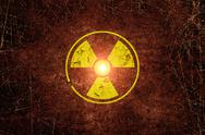 Radiation sing Stock Illustration