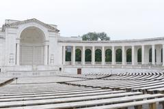 Memorial ampitheatre in washington dc Stock Photos