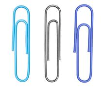 paperclips - stock photo