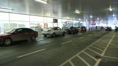 Car Park Stock Footage