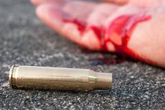 street crime - stock photo