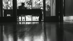 Black & White, Queensland interior 5 Stock Footage