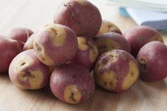 apache potatoes - stock photo