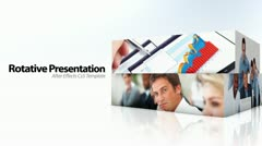 Rotative Presentation - After Effects Template - stock after effects