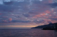 Stock Photo of Yalta dusk