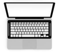 laptop - stock illustration