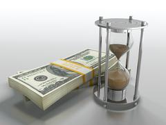 Stock Illustration of time is money