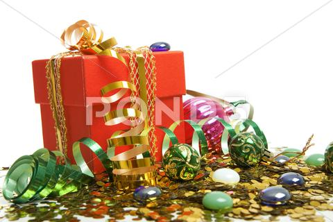 Stock photo of christmas gift