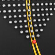 leader ball - stock illustration